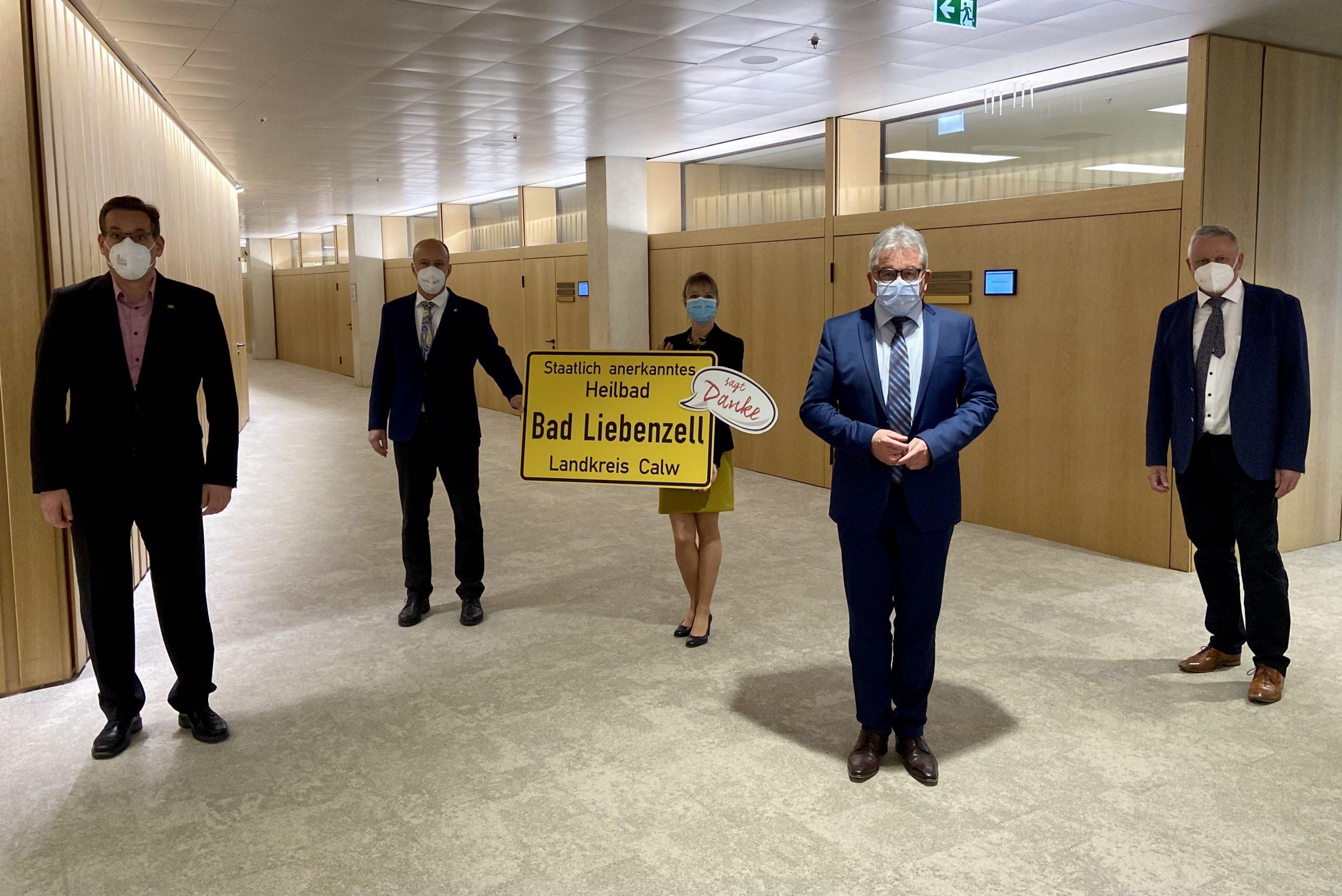 Thomas Blenke: Freue mich über mehr als fünf Millionen Euro für Bad Liebenzell